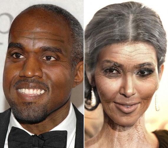 Kim és Kanye reméljük, együtt öregszik meg.