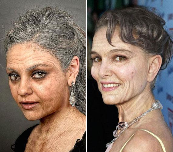 Mila Kunis és Natalie Portman kicsit ijesztőek.