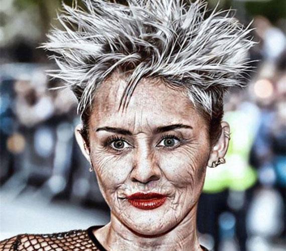 Miley Cyrusszal eléggé kiszúrt a művész.