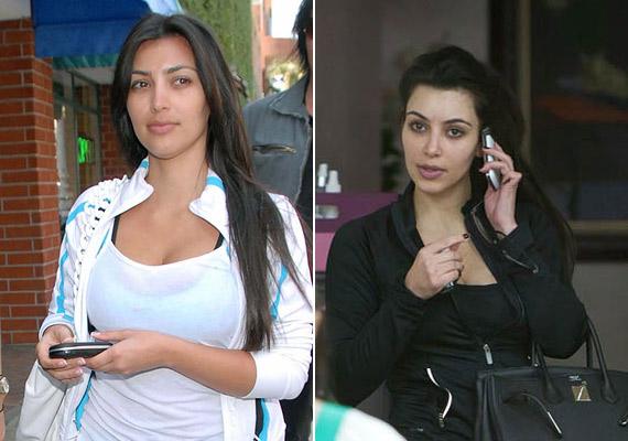 Kim Kardashian nem titkolja, hogy rétegnyi vakolat van rajta, ha meg kell jelennie valahol, a Twitterre is töltött fel képet az egyes rétegekről. Ezeken a képeken viszont egy teljesen normális, átlagos nő benyomását kelti.