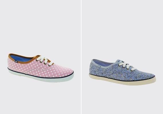 A nőies, pillekönnyű vászoncipő nemcsak kényelmes viselet, de nagyon divatos is. A mintás, színes, kissé bohókás darabok az idén is felkapottak lesznek.
