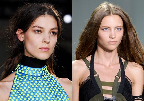 Az úgynevezett bad hair day azt jelenti, amikor sehogyan sem akar állni a frizura. Ezt most divattá tették. A modellek úgy néznek ki, mintha most keltek volna fel az ágyból.