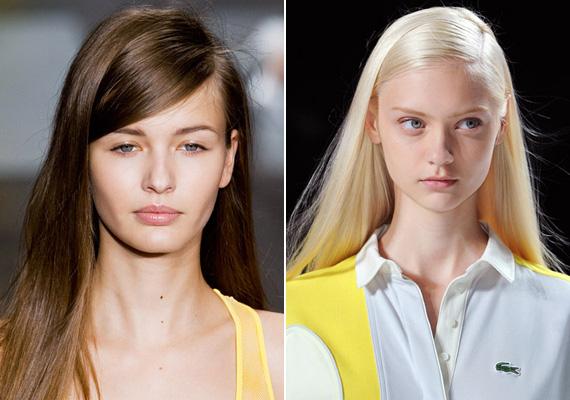 Sok bemutatón vonultak fel a modellek éles oldalválasztékkal, ami decens, mégsem túl szigorú.