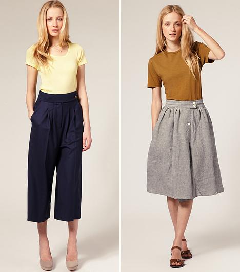Egyszerű elegancia  Óriási népszerűségnek örvendenek a mostani trendben azok a pólók, amelyek letisztult egyszerűségükkel hívják fel magukra a figyelmet. Ezeket a legtöbbször betűrve hordják, amely neked is jól állhat, mert a felsőtested összenyomja, míg a lábadat hosszúnak mutatja. Így magasabbnak tűnhetsz, mint amekkorára valójában nőttél.