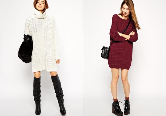 A ruha, az ruha, a pulcsi, az pulcsi. Ha tunikaszerű fazont választasz, akkor vegyél fel hozzá leggingset - itt van értelme - vagy nadrágot. Önmagukban a popsivillantós darabok elég közönségesek.