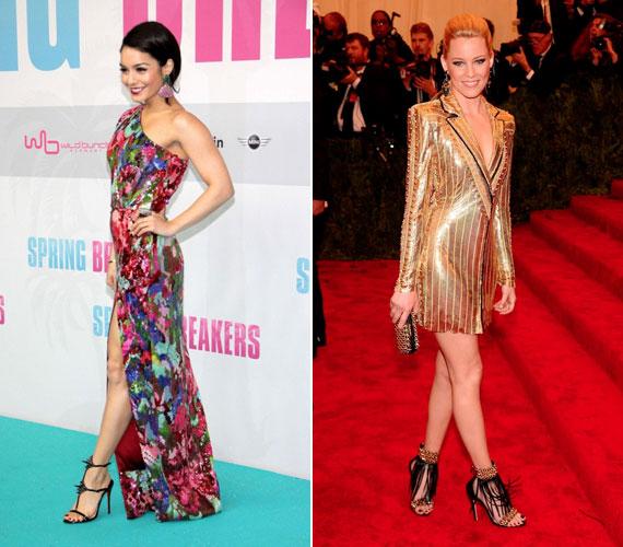 Vanessa Hudgens és Elizabeth Banks rockosra vette a figurát.