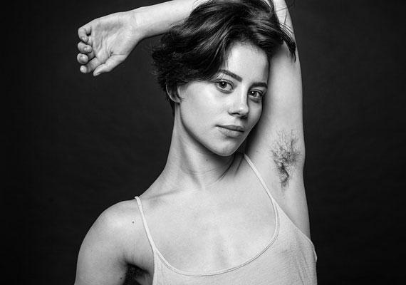 Ben Hopper is készített egy sorozatot Natural Beauty címmel. Igen, így néz ki természetes valójában egy női test.