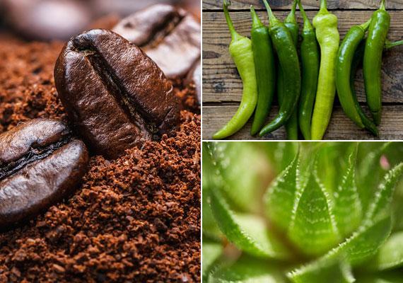 A kávés-paprikás testradír serkenti a keringést, a szemcsék pedig kevésbé durvák, mint ha sót vagy cukrot alkalmaznál, ráadásul nem is olvadnak el. Kattints a feszesítő testradír receptjéért.