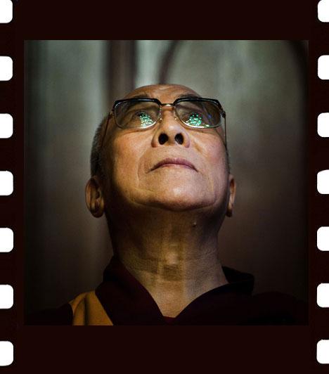 Stiller Ákos: ReményA XIV. dalai láma Budapesten, a Parlamentben újságírók kérdéseire válaszol. A kép Emberábrázolás-portré - egyedi - kategóriában harmadik helyezett lett.
