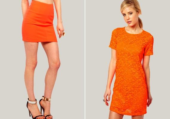Ami a narancssárgát illeti, minél élénkebb árnyalatút válassz, mert idén ez lesz a trendi.