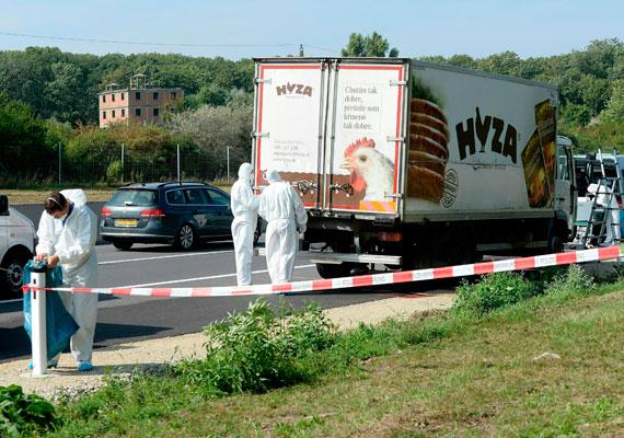 Augusztus 27-én egy ausztriai autópályán, a magyar határ közelében 71 menekült holttestét találták meg egy hűtőautó rakterében. Az autó korábban egy szlovák céghez tartozott, azon ideiglenes rendszám volt, és embercsempészek használták. Csakhogy az autó raktere légmentesen záródott, így a belezsúfolt emberek a kánikulában még Magyarország területén életüket vesztették. Közel egy napig vesztegelt a tettesek által magára hagyott kamion az autópálya leállósávjában, mire felfedezték. Az áldozatok közt gyerekek is voltak.