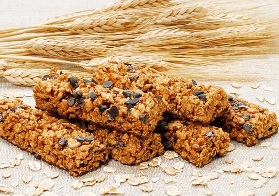 A müzliszeletek többsége szintén tele van cukorral, amitől csak éhesebb leszel.
