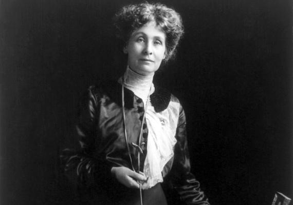 Emmeline Pankhurst az angol szüfrazsettmozgalom vezetője volt, nélküle talán ma sem lehetne a nőknek szavazati joguk.