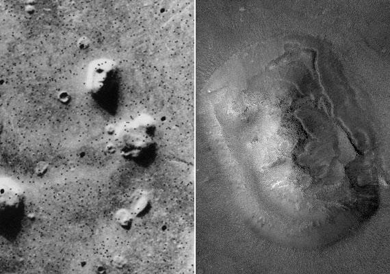 Amikor a különleges, arcra emlékeztető formákról készült Mars-fotók napvilágot láttak, sokan úgy gondolták, ez a bizonyíték arra, hogy a NASA eltitkolja az idegenek létezését.