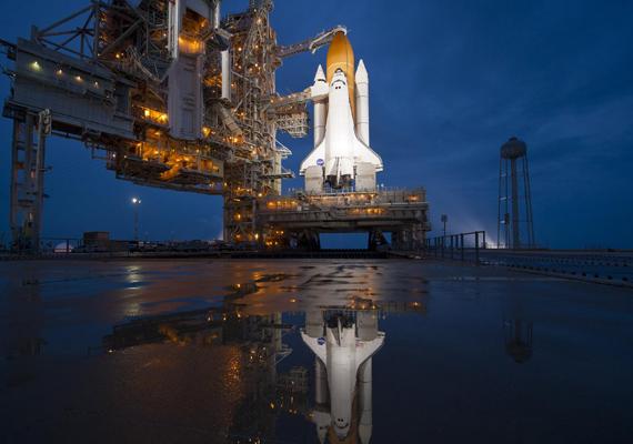 2011. július 8-án indították útjára az Atlantis űrhajót a Space Shuttle program keretében. Kattints ide a nagy felbontású képért!