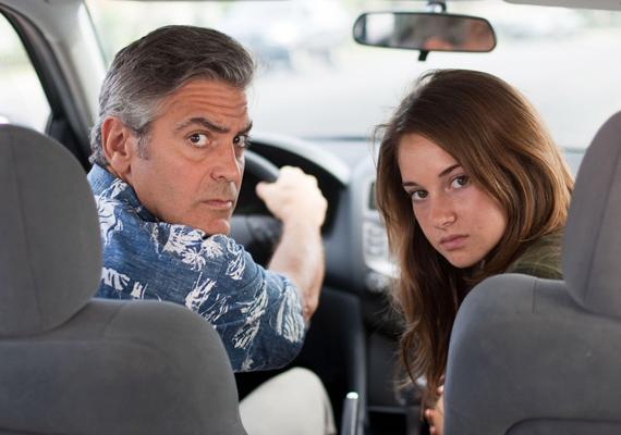 Habár George Clooneynak az életben esze ágában sincs megállpodni és családapa szerepben tetszelegni, az Utódok című filmben mégis megmutatja ezt az oldalát is.