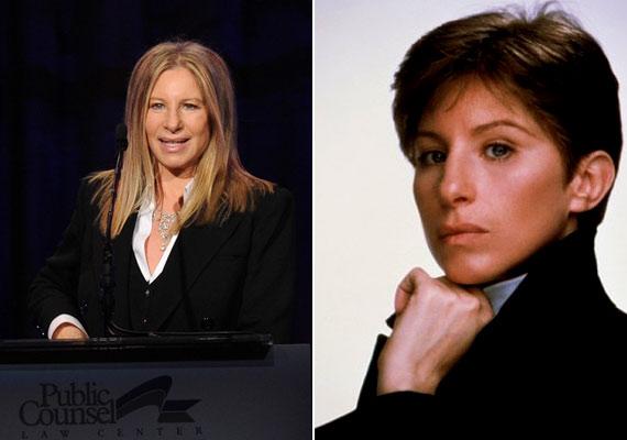 Barbra Streisand 41 éves volt, mikor álruhás középiskolást játszott a Yentl című moziban.
