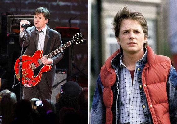 Michael J. Fox 24 éves volt, amikor először eljátszotta Marty McFly szerepét a Vissza a jövőbe című filmben. A harmadik részben azonban Marty még mindig csak 17 éves volt, Fox viszont a 29-et taposta.