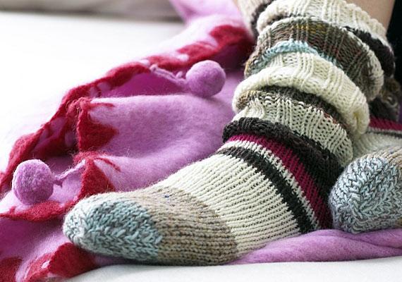 A zoknikkal ugyanez a helyzet: aki örömet akar okozni, az ne praktikus dolgot vegyen.