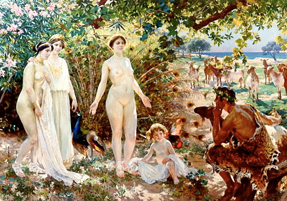 Szép Heléna Zeusz lánya volt a görög mitológia szerint. A történet úgy tartja, hogy születésekor Aphrodité a világ legszebb nőjévé varázsolta, ami aztán közvetett szerepet játszott a trójai háború kirobbanásában is.