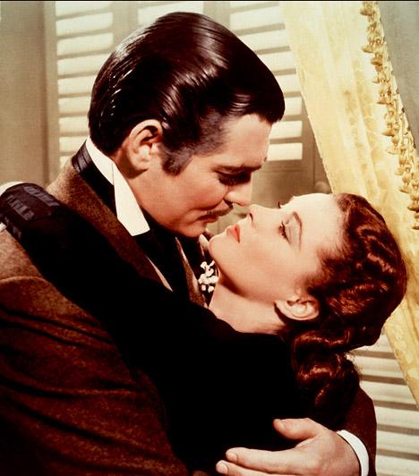 Elfújta a szél  Az 1939-es alkotás 9 Oscar-díjat nyert. Az amerikai polgárháború idején játszódó romantikus dráma főhőse egy georgiai ültetvényes gyönyörű lánya, Scarlett O'Hara - Vivien Leigh. A lány azonban hiába szerelmes a szomszéd birtokos legidősebb fiába, Ashley-be - Leslie Howard -, a fiatalember mégsem őt veszi el.