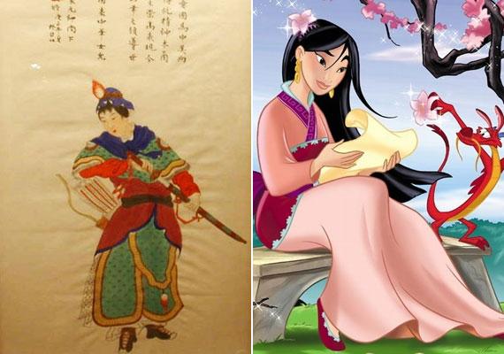 Hua Mulan az ősi Kína legendás alakja, aki 18 évesen csatlakozott a kizárólag férfiakból álló sereghez apja és öccse helyett. Történetét a Disney népszerű mesefilmje is megörökítette. Itt olvashatsz róla többet.