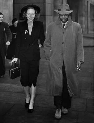 Seretse Khama és Ruth Williams