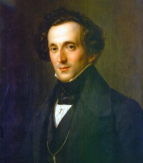 Felix Mendelssohn (1809-1847)  Hamburgban született német zsidó családban. Zongoristaként már kilencévesen nyilvános szerepléseket vállalt, komponálni pedig 11 éves korában kezdett. Operák, oratóriumok, egyházi zenék, kórus- és zenekari művek tucatjai fűződnek a nevéhez.