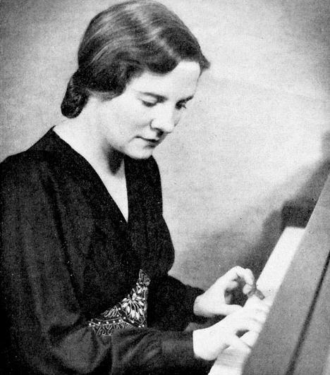 Johana Harris (1912-1995)  Kanadai zongorista és zeneszerző, aki mindössze hatéves volt, amikor már zenét szerzett. Zongorista karrierjét nyolcévesen kezdte: több mint 100 szólólemezt készített életében, és szinte az összes nagyobb szimfonikus zenekarnak tagja volt Amerikában.