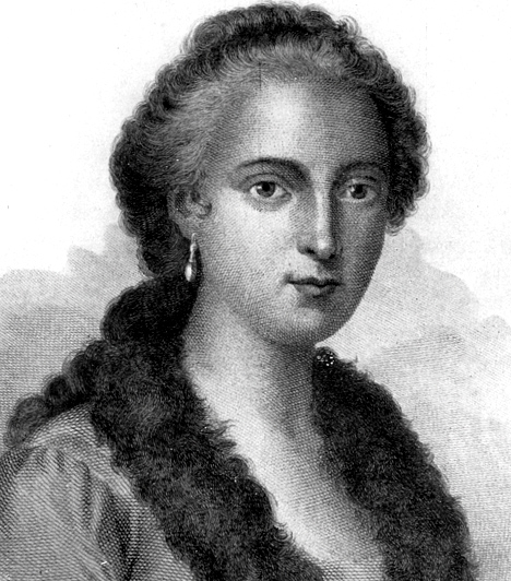 Maria Gaetana Agnesi (1718-1799)  Olasz nyelvész, matematikus, filozófus, a Bolognai Egyetem tiszteletbeli tagja. Ő volt az, aki elsőként könyvet írt a differenciál- és az integrálszámításról. Mariát csodagyereknek tartották: ötévesen az olasz mellett franciául is beszélt. Kilencévesen egyórás beszédet tartott egy akadémiai gyűlésen - a latin nyelvű beszédet saját maga írta, témája a nők joga volt a tanuláshoz. 13 évesen már görögül, héberül, spanyolul, németül és latinul is beszélt.  Kapcsolódó kvíz: Híres nők a történelemben »