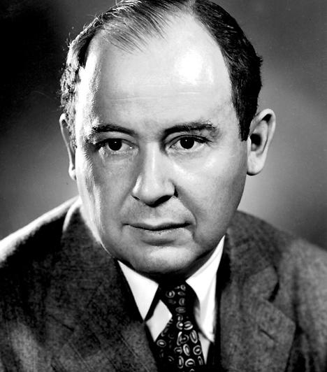 Neumann János (1903–1957)  Magyar származású matematikus, a számítógép atyja. Kortársait meghaladó képességei és tehetsége a matematika és a nyelvek iránt hamar megmutatkozott: a magyar mellett már gyerekként beszélt franciául és németül, és ezek mellé megtanulta a latint és az ógörögöt. Emellett rendkívül jól számolt: állítólag fejben ellenőrizte azonos sebességgel a korai elektronikus számológépek számításait. Kapcsolódó képgaléria: A számítógép karbantartása »