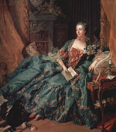 Madame de Pompadour (1721-1764)Az első stílusteremtő hölgyek egyike XV. Lajos francia király ágyasa, Madame de Pompadour volt. A csábító asszony terjesztette el a pipereszerek és az illatosítók tartására szolgáló erszényszerű kézitáskát, amelyet a nők kiegészítőként máig szívesen használnak. A ridikül szó a nevetségesen kis méretre utal.