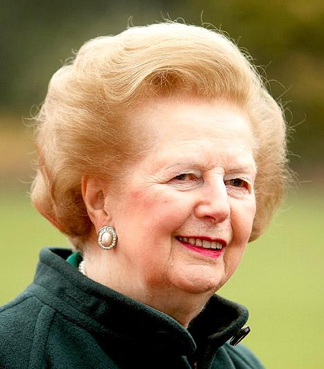 Margaret Thatcher  Brit konzervatív politikus, aki 1979 és 1990 között az Egyesült Királyság miniszterelnöke volt, egyben az eddigi egyetlen nő, aki ezen tisztséget betöltötte.  Miniszterelnöksége alatt zajlott le a falkland-szigeteki háború, amelynek sikere nagyban hozzájárult 1983-as újraválasztásához. A szovjetektől a Vaslady becenevet kapta, ellentmondást nem tűrő személyisége miatt 1990-re népszerűsége olyan nagymértékben csökkent, hogy kénytelen volt lemondani.