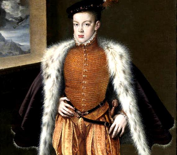 Bár nem lett király, a spanyol uralkodók elmebaja leginkább Don Carlos infánst sújtotta. Állatokat és szolgálókat kínzott, valamint titkos vágya volt embert ölni.