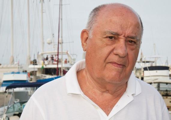 A 77 éves spanyol üzletember, a Zara márka tulajdonosa, Amancio Ortega 7 milliárd dollárral növelte meg a vagyonát tavaly. Ortega egy vasúti munkás fiaként volt kifutófiú egy ingeket áruló üzletben Spanyolországban. Most ő a harmadik leggazdagabb ember a világon.