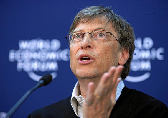 A leggazdagabb ember a világon Bill Gates, a Microsoft társalapítója, 76 milliárd dolláros vagyonával. Az amerikai üzletember 2007 után állt újra a lista élére. A Bill and Melinda Gates Alapítvány tulajdonosa is.