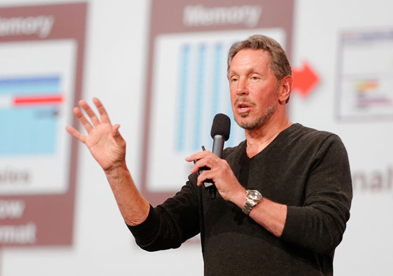 A világ legnagyobb üzleti szoftvermegoldásokat kínáló cégét, az Oracle Corporationt vezető Larry Ellison az ötödik leggazdagabb ember a világon. Ellison költeni is szereti a pénzt költeni is, ezt bizonyítja például a San Mateó-i háza köré kilenc éven át épített japánkert, amiben híd, vízesés és cseresznyefák is találhatóak.