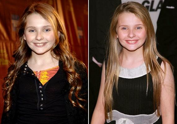 Nem is olyan régen Abigail még kislány volt: A család kicsi kincse című filmben ismerhette meg a világ.