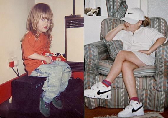 Adele gyerekkorában átlagos testalkatú kislány volt.