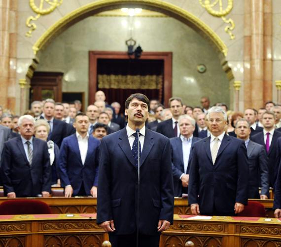 Magyarország új államfője.
