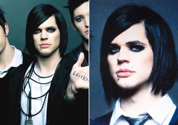 Az énekest néhány évvel ezelőtt még erős sminkben, fekete hajjal láthattad.