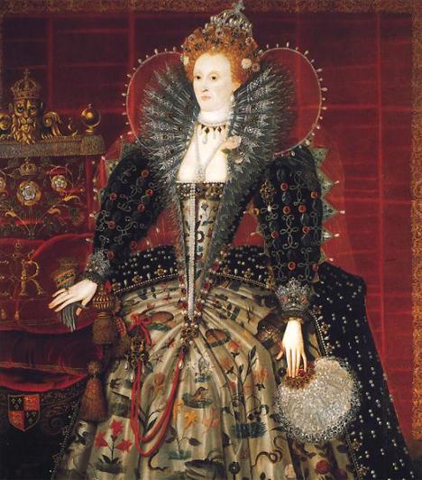 I. Erzsébet (1533- 1603)VIII. Henrik kisebbik lánya, I. Erzsébet féltestvére halála után került az angol trónra 1558-ban. A spanyol Armada 1588. évi legyőzésével ő rakta le a brit gyarmatbirodalom alapkövét. Hajadonként, gyermektelenül halt meg.