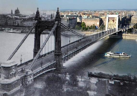 Erzsébet híd.