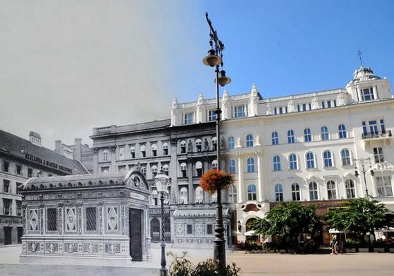Vörösmarty tér, Gerbeaud.