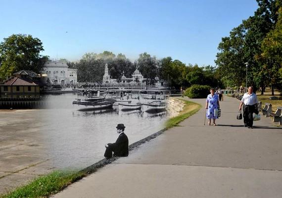 Vázsonyi Vilmos sétány, Városligeti tó.