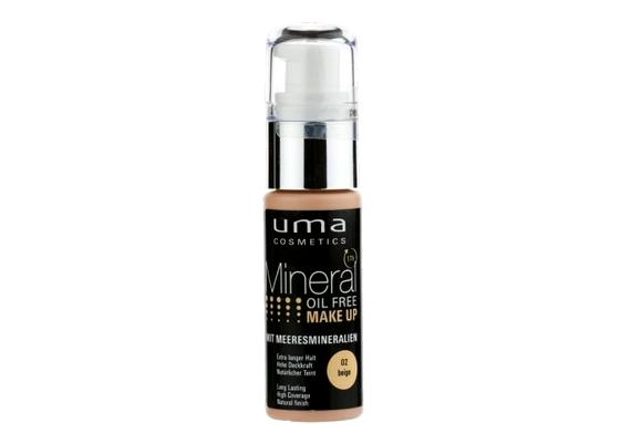 Bár az olajmentes alapozók jók, mert nem tömítik el a pórusokat, azUma Mineral Oil Free Make Up sem működik alapos aláhidratálás nélkül.