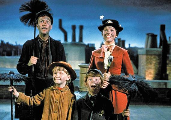 Mary Poppins, 1964: Mary Poppins, a szó szerint varázslatos nevelőnő tudja, hogyan kell bánni az elkényeztetett gyerekekkel, és azt is, hogyan lehet kimondani gyorsan, hogy supercalifragilisticexpialidocious.