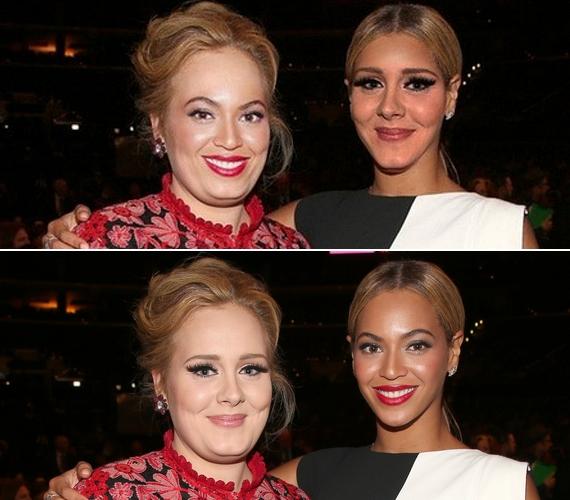 Beyoncé és Adele is jobb, ha a saját frizurájánál marad.