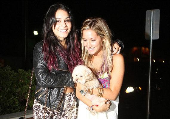 Vanessa és Ashley a High School Musical forgatása óta barátnők.