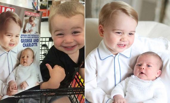 Olyan szembetűnő a hasonlóság a kisfiú és György herceg között, hogy még ő is észrevette.